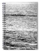 Canoe Glitter Spiral Notebook