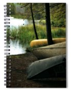 Canoe Trio Spiral Notebook