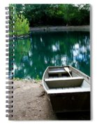 Canoeing Spiral Notebook