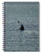 Canoeing In The Florida Riviera Spiral Notebook