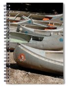 Canoes 143 Spiral Notebook