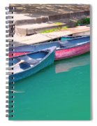 Canoes 3 Spiral Notebook
