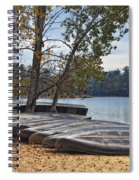 Canoes Spiral Notebook