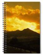 Canon City Sunset Spiral Notebook