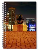 Canon View Of The City Spiral Notebook
