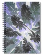 Daytime Jungle Sky By Jammer Spiral Notebook