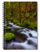 Canopy Of Green Spiral Notebook