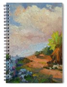 Canterbury Bells Joshua Tree Spiral Notebook