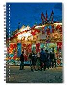 Canuck Fun House Spiral Notebook