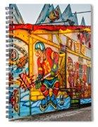 Canuck Funhouse 2 Spiral Notebook