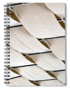 Canvas Ceiling Detail Spiral Notebook