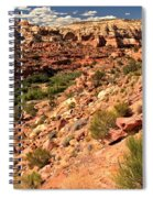 Canyon At Calf Creek Spiral Notebook