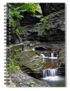 Canyon Cascade Spiral Notebook