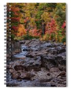 Canyon Color Rushing Waters Spiral Notebook