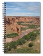 Canyon De Chelly Overview Spiral Notebook
