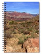 Bright Angel Trail, The Grand Canyon  Spiral Notebook