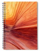 Canyon Kissed By The Sun Spiral Notebook