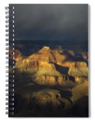 Canyon Light Spiral Notebook