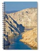 Canyon Of Zrmanja River In Croatia Spiral Notebook