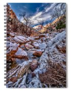 Canyon Stream Winterized Spiral Notebook