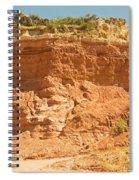 Canyonlands In West Texas Spiral Notebook
