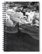 Snow In The Sun Spiral Notebook