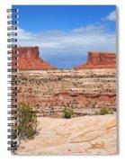 Canyonlands Utah Landscape Spiral Notebook