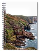 Cap Frehel In Brittany France Spiral Notebook