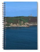 Cap Frehel Peninsula In Cotes-darmor Spiral Notebook