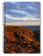 Cape Anguille Lighthouse Spiral Notebook