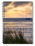 Cape Cod Bay Square Spiral Notebook