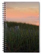 Cape Cod Bay Sunset Spiral Notebook