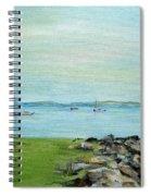 Cape Cod  Boats Spiral Notebook