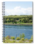 Cape Cod Canal Spiral Notebook