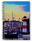 Cape Cod Harbor Spiral Notebook