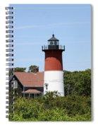 Cape Cod - Nauset Lighthouse - Ma Spiral Notebook