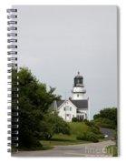 Cape Elizabeth Light I Spiral Notebook