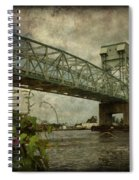 Cape Fear Morning Glory Spiral Notebook