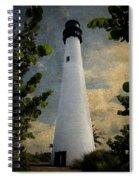 Cape Florida Lighthouse 1 Spiral Notebook