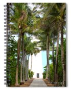 Cape Florida Walkway Spiral Notebook