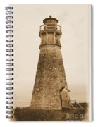 Cape Jourimain Lighthouse Spiral Notebook