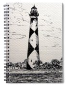 Cape Lookout Lighthouse Nc Spiral Notebook