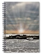 Cape May After The Storm Spiral Notebook