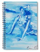 Cape May Bathing Beauty Spiral Notebook
