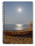 Cape May By Moonlight Spiral Notebook