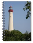 Cape May Light Spiral Notebook