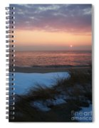 Cape May Twilight In February Spiral Notebook
