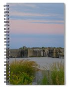Cape May Wold War Two Concrete Bunker Spiral Notebook