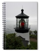 Cape Meares Light Spiral Notebook