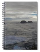 Cape Mears Storms Spiral Notebook